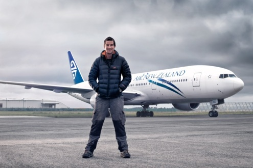 Bear Grylls Air NZ 7 CREDIT Air NZ