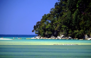 Abel Kayaking, Torrent Bay, Abel Tasman National Park credit Tourism NZ