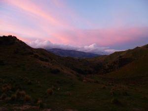 k-Neuseeland 2012 0982 - Sonnenuntergang (Cregan Hut)
