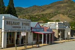 Old Cromwell Town, New Zealand.