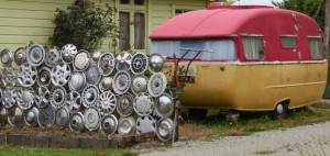 hubcap fence