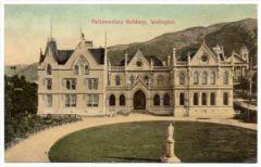 parliament postcard historic