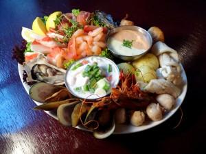 sea food platter
